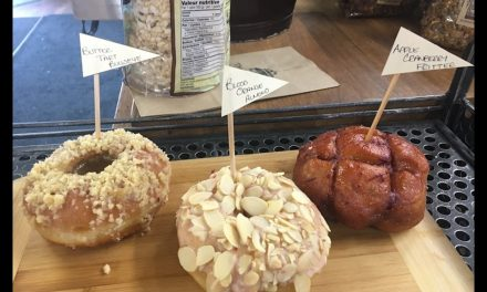 Thinking outside the box with vegan doughnuts