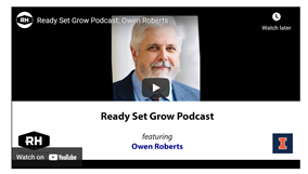 Ready, Set, Grow podcast interview with Owen Roberts
