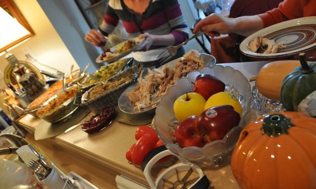Food is the only constant this thanksgiving
