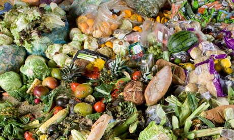 Up to 40% of what farmers produce gets thrown away. Photo credit to www.theguardian.com