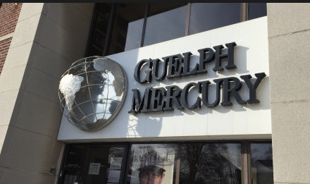 Thanks, Guelph Mercury, for the opportunity