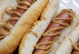 Peanut butter on a hot dog …. Good for life expectancy?
