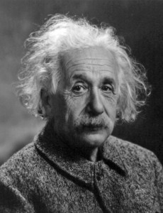 Albert Einstein, one of history's most famous and well-known scientists. Photo credit pt.wikipedia.org