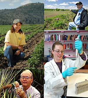 There's a wide range of careers in agriculture available. Photo credit to www.trufflemedia.com